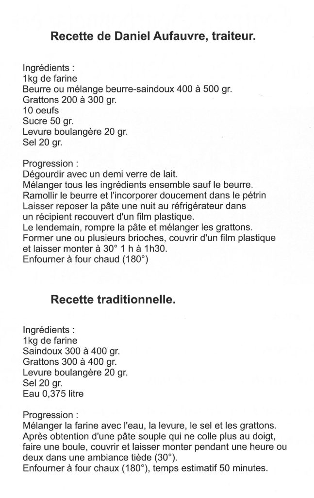 recette flayer
